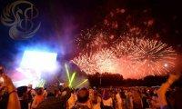 Закрытие торжественной церемонии ЧМ по футболу 15.07.18 - г. Екатеринбург